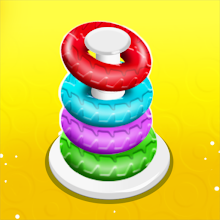 Color Hoop Stack Puzzle - Color Sorting Games APK