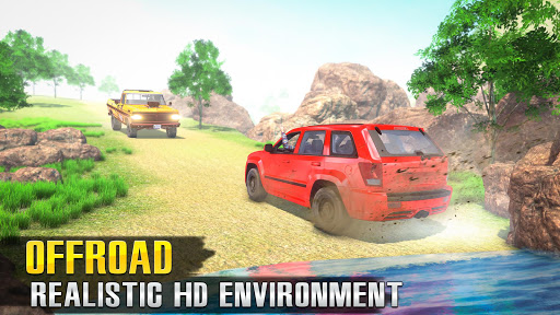 Offroad Jeep Driving 3D: Offline Jeep Games 4x4 1.11 screenshots 1