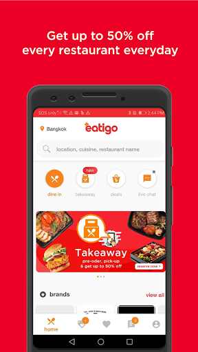 eatigo u2013 discounted restaurant reservations 6.3.1 Screenshots 1