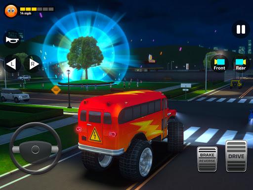 Super High School Bus Simulator und Auto Spiele 3D 2.7 screenshots 23
