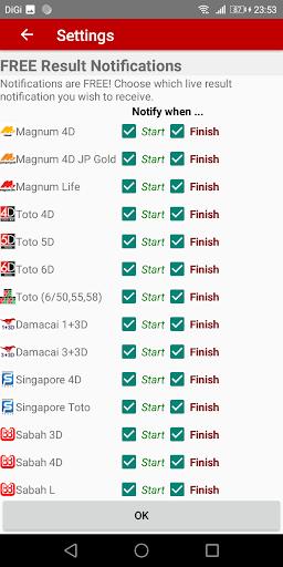 Live 4D Results (MY & SG) apktram screenshots 8