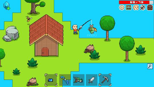 Whatcraft Pixel Games Offline Mod Apk 43 (Free Shopping) 7