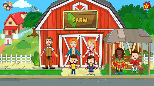 My Town : Farm Life Animals Game  for Kids Free 1.07 screenshots 6