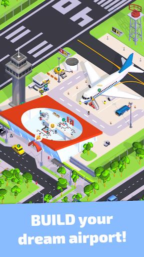 Air Venture - Idle Airport Tycoon u2708ufe0f apkdebit screenshots 4