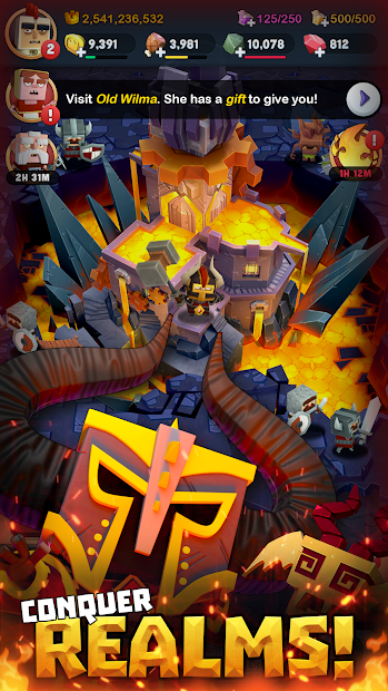 Screenshot 5 de Kingdoms of Heckfire para android