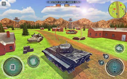 Tank Blitz Fury: Free Tank Battle Games 2019 apkpoly screenshots 5