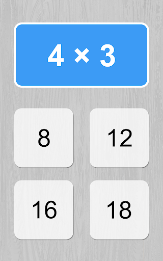 multiplication table game screenshot 3
