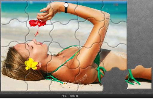 Bikini Puzzles Jigsaw - Puzzle Sexy Suit Girls 1.5 screenshots 1