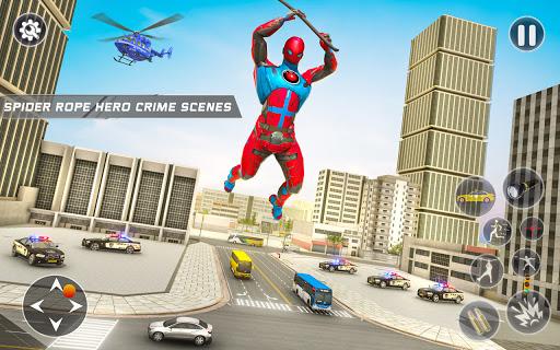 Spider Rope Hero Robot - Vegas Crime City Gangster  screenshots 1