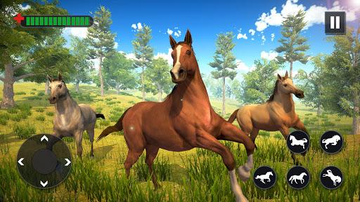 Wild Horse Family Simulator : Horse Games  screenshots 9