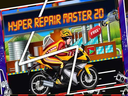 Repair Master 2D: Bike Mechanic Simulator Game screenshots 7