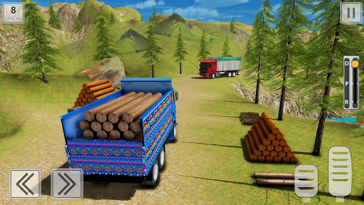 Indian Cargo Truck Driving Simulator 2021 APK MOD Download 1