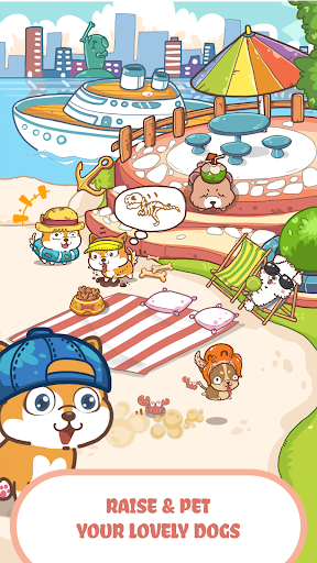 Fancy Dogs - Cute dogs dress up and match 3 puzzle Apkfinish screenshots 16