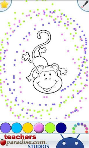 Jungle Animals Coloring Book screenshots 4