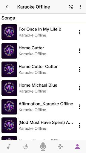 Karaoke Offline Free Download 2.0.2 Screenshots 6
