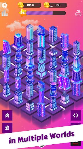 Merge City: idle city building game  screenshots 2