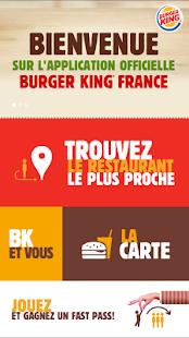 Burger King® France – pour les amoureux du burger 5.6.5 screenshots 1