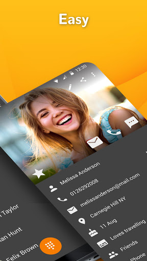 Simple Contacts: Address Book with Contact Backup  screenshots 2
