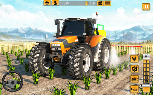 Indian Farmer Tractor Driving - Tractor Game 2020  screenshots 3