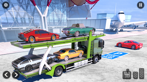 US Army Transporter Plane - Car Transporter Games screenshots 3