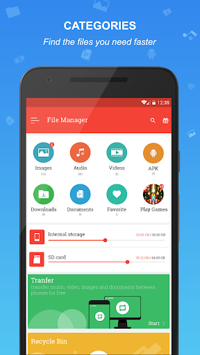 File manager  Screenshots 1