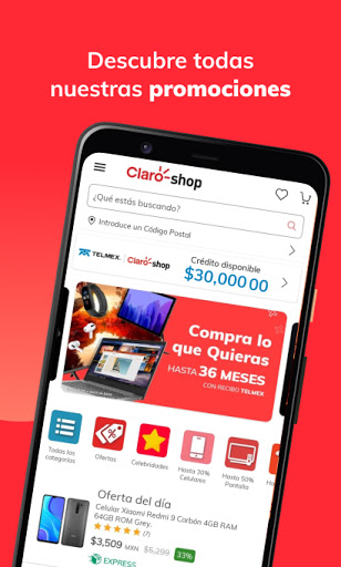 Claro shop  Screenshots 1
