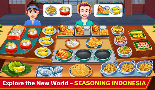 Indian Cooking Madness - Restaurant Cooking Games android2mod screenshots 1