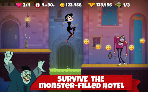 Hotel Transylvania Adventures - Run, Jump, Build! screenshots 1