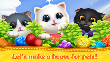 Kitten Party Cat Home Decorate