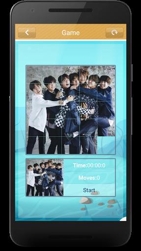 BTS Slide Puzzle Game  screenshots 4