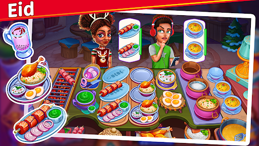 Christmas Cooking : Crazy Food Fever Cooking Games  screenshots 1