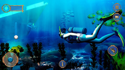 Raft Survival Ocean-Explore Underwater World Games android2mod screenshots 1