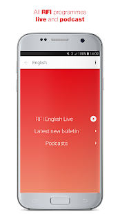 RFI Pure radio - Live streaming and podcast Screenshot