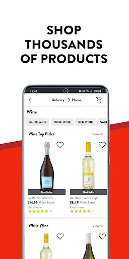 Drizly: Alcohol delivery. Order Wine Beer & Liquor 4.16.2 Screenshots 3