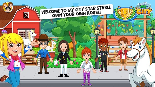Free My City  Star Horse Stable 1