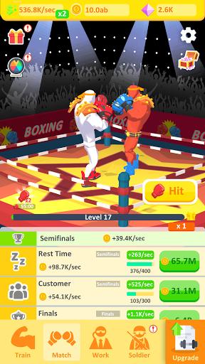 Idle Boxer Life 1.0.0 screenshots 2