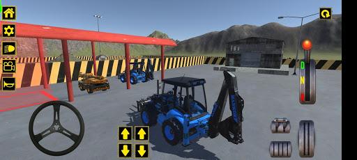 Excavator Jcb City Mission Simulator android2mod screenshots 8