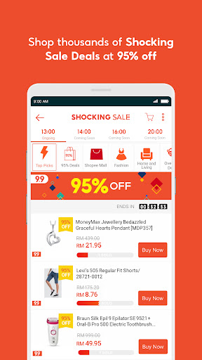 Shopee MY: 9.9 Shopping Day android2mod screenshots 6