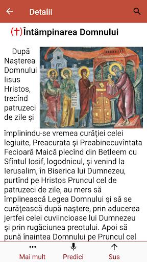 Calendar ortodox de stil vechi  Screenshots 3