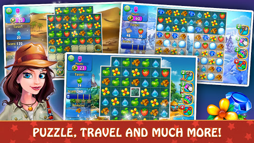 Magica Travel Agency - Match 3 Puzzle Game 1.3.0 screenshots 17