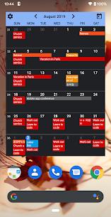 Calendar Widgets Premium Apk: Month Agenda calendar (Paid Features Unlocked) 2
