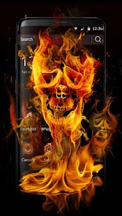 Fire Skull Fantastic Theme 1.1.3 Android APK [Unlocked] 1