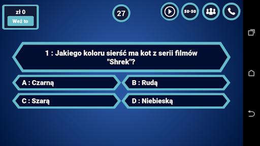 milionerzy po polsku 2021 : trivia brain quiz screenshot 2