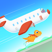 Dinosaur Airport - Flight simulator Games for kids