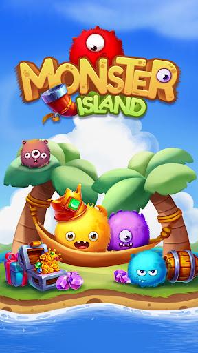 Monster Popstar Island - Blast Puzzle screenshots 1