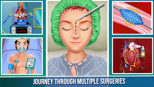 Open Heart Surgery New Games: Offline Doctor Games 3