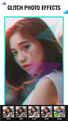Glitch Video Effect-  Photo Effects 1.0.8 Screenshots 1