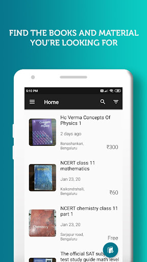 BookSyndy - Find and sell used books in your area  screenshots 1