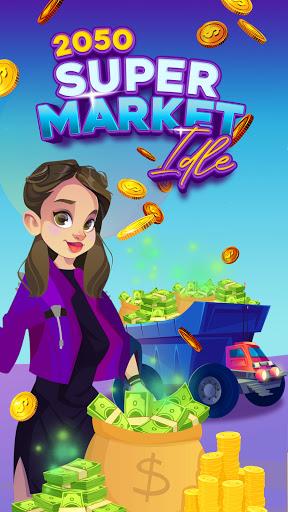 2050 Supermarket Idle – Tycoon Game screenshots 1