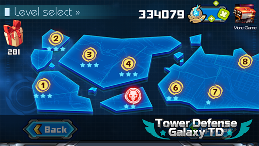 Tower Defense: Galaxy TD 1.3.2 screenshots 6